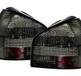 LED bakljus för Audi A3 8L / Black Chrome