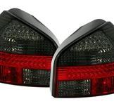 LED bakljus för Audi A3 8L / Röd-svart