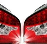 LED bakljus för Audi A3 8L i Red White