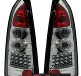 LED bakljus för Opel Astra G Caravan i krom