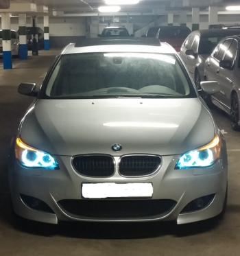 BMW E60. KUNDBILD