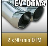 """SuperSport Tips variant DTM4 """"2x90mm DTM Skarp kant"""