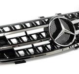Mercedes ML W164 Sport Grill, svart/ Krom