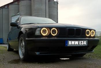 BMW E34. Linköping. KUNDBILD.