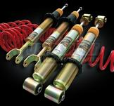 Black Evolution Coilovers Ford Focus (DAW, DAX, DBW, DBX, DFW, DA1, DB1) 10/98-