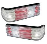 Tail lights for Mercedes W126 S-Class / White