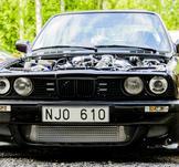 BMW E30, Junsele. KUNDBILD