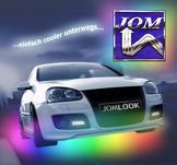 Under-Car Kit, LED flerfärgad, flexibel, med radiostyrning, 23 program + ljudkontrol