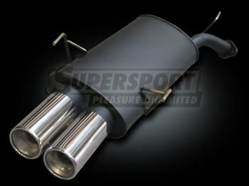 """SuperSport VW Jetta Sport Muffler (I) Limo, 1J �r 09/98- VariantType 2.3V5 motor alternativt (bensin 125kW) Godk""""nnande delar intyg TšV õ 19,3"""