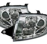 LED-strålkastare med krom för Audi TT 8N