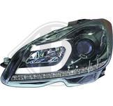 Mercedes..W204 11->>..Ett par designstrålkastare