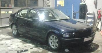 BMW E46. Eksjö. KUNDBILD