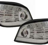 BMW E60 03-07 - LCI LED Bakljus vit - nya