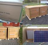 Nästa leverans av solceller