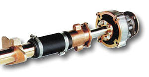 Centaflex - flexibel koppling med adapter till Volvo Penta MS1 och MS2
