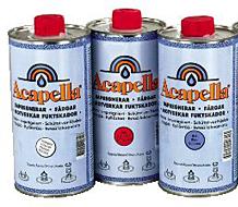 Acapella renovering/impregnering