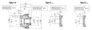 Centaflex - flexibel koppling Yanmar