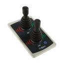 ALFA30T panel med 2 stycken joystick