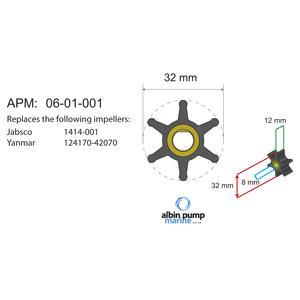 Premium Impeller kit PN 06-01-001