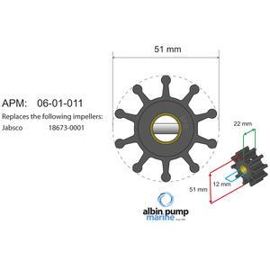 Premium Impeller kit PN 06-01-011