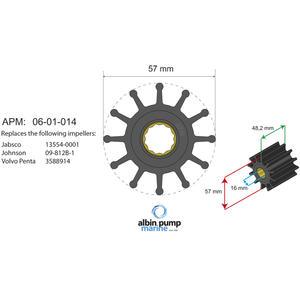 Premium Impeller kit PN 06-01-014