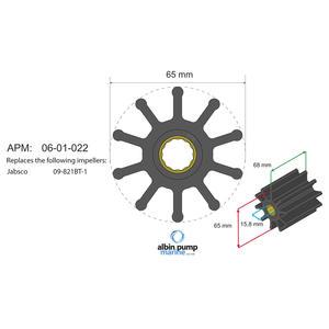 Premium Impeller PN 06-02-022