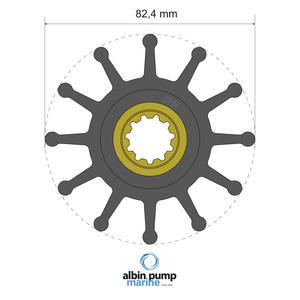 Premium Impeller PN 06-02-026