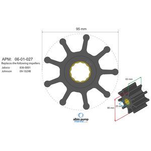 Premium Impeller PN 06-02-027