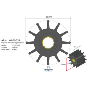 Premium Impeller PN 06-02-028