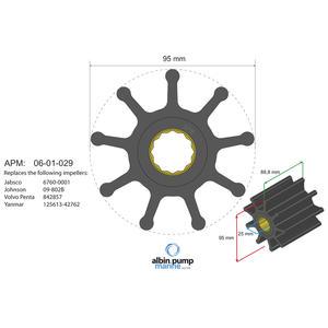 Premium Impeller PN 06-02-029