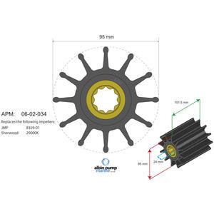Premium Impeller PN 06-02-034