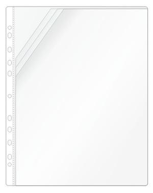 Ficka mapp 3-flik snedsk. Hörn A4 PP präglad