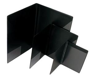 Blockomslag A5 PP svart