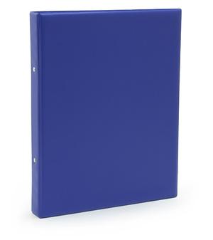 Pärm A4 pp blå utan ficka 40 mm rygg, 30 mm r-mek 21-70-21