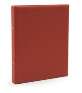 Pärm A4 pp röd utan ficka 40 mm rygg, 30 mm r-mek 21-70-21