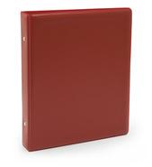 Pärm A5 pp röd utan ficka 40 mm rygg, 30 mm r-mek 21-70-21