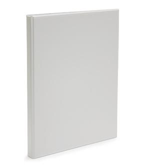 Pärm A4 pp vit med ficka 25mm rygg, 16 mm r-mek 21-70-21 plac. på sid 3