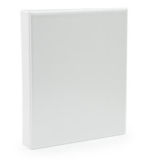 Pärm A4 pp vit med ficka 40mm rygg, 30mm r-mek 21-70-21 plac på sid 3