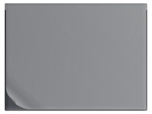 Skrivunderlägg A1 PP svart med heltäckande klaff samt skummad undersida