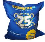 """Sittsäck """"Sverigelotten"""""""