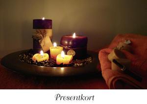 Presentkort ljus med kuvert 10 st