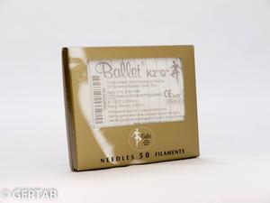 Epileringsnål Ballet guld F-skaft 50 st
