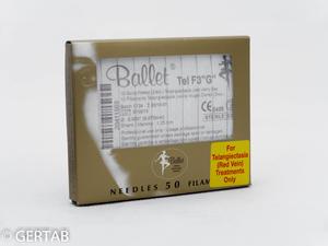 Epileringsnål Ballet Tela guld F  50 st
