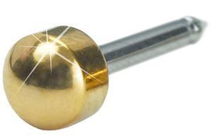 Med. ear G titanium plain 10 st