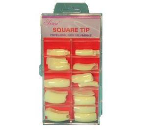 Nageltip square 100 st/frp