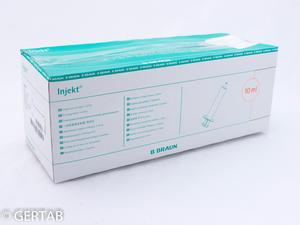 Spruta 10ml utan packning 100st/frp