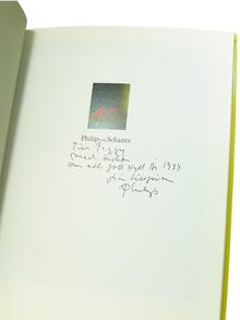 (Schantz, Philip von) (1928-1998) - Nils-Göran Hökby: Philip von Schantz. Inte bara bär.