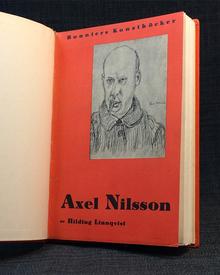 (Nilsson, Axel) (1889-1980) - Hilding Linnqvist: Axel Nilsson.