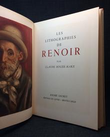 (Renoir, Auguste) (1841-1919) - Claude Roger-Marx: Les Lithographies de Renoir.