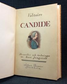 Voltaire (Arouet, Francois Marie): Candide eller optimismen.